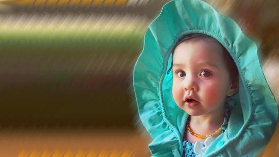 Collar de ámbar del báltico para bebé